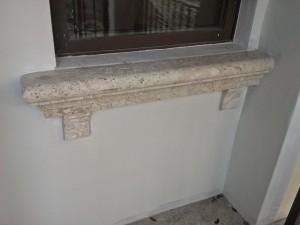 Custom made Marbella Stone window Sill